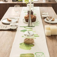 Cactus Party Table Runner