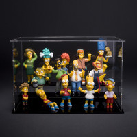 LOT OF 14 The Simpsons Collection of 14 figures toys Action Figures Alternative Measures