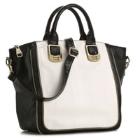 Steve Madden Gammit Color Block Satchel
