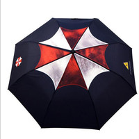 Biohazard Resident Evil  Umbrella corporation zombie game 1 2 3 4 5 6 7 logo