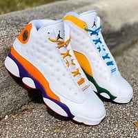 Nike Air Jordan 13 Retro Flint Sneakers Basketball Shoes