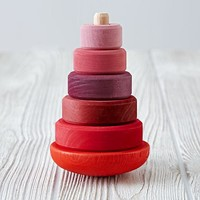 Wobbly Stacker (Pink)