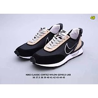 Sacai x Nike LDV Waffle Blazer Fashion Women Men Casual Sport Running Shoes Sneakers 4#