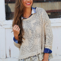 Bet On Love Knit {Taupe}