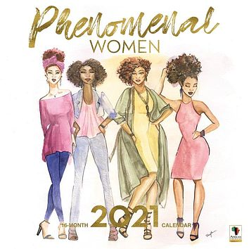 Phenomenal Women 2021 Wall Calendar