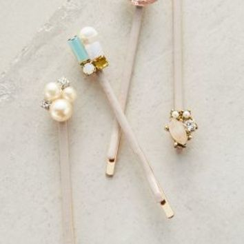 Linnet Bobby Set by Anthropologie in Pink Size: One Size Hair