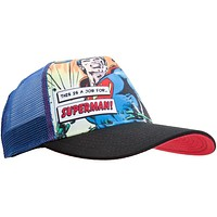 Superman - This Is A Job For Trucker Cap