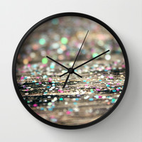 Afterparty Wall Clock by Beth - Paper Angels Photography