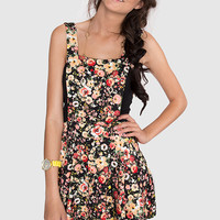 Steph Overall Floral Dress