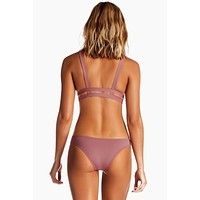 Neutra Side Cut Out Hipster Bottom - Dusty Rose Pink