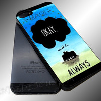 The Fault Our Stars John Green - iPhone 4/4s/5c/5s/5 Case - Samsung Galaxy S3/S4 Case iPod 4/5 Case - Black or White