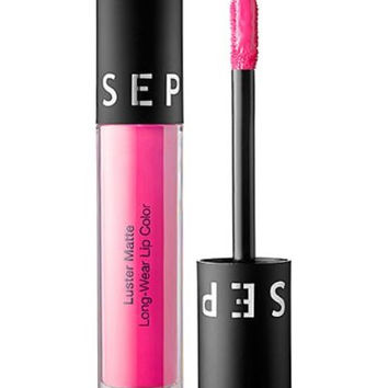 SEPHORA COLLECTION Luster Matte Long-Wear Lip Color-Electra pink Lectra-uster
