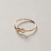 Infinitum Ring by Anthropologie Gold 6 Jewelry