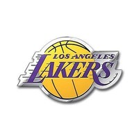 Los Angeles Lakers Auto Emblem NBA Car Accessories Team ProMark Chrome