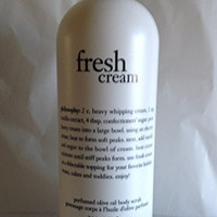 Philosophy Fresh Cream Perfumed Olive Oil Body Scrub 32 ounce