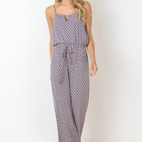 Simple Day Jumpsuit - Pink
