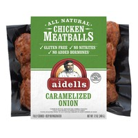 Aidells Caramelized Onion Meatballs - 12oz