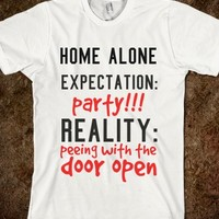 HOME ALONE EXPECTATIONS & REALITY
