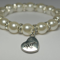 mom bracelet - adoption gift - mother in law gift - mothers day - top sellers - unique mom gift - mom birthday - handmade bracelet