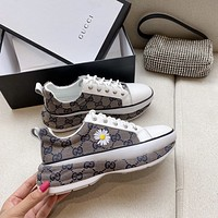 Gucci Fashion Women's Casual Running Sport Shoes Sneakers Slipper Sandals High Heels Shoes