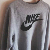 """NIKE"" Fashion Leisure Round Neck Top Sweater Pullover Sweatshirt"