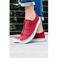 Laid-Back California Style Sneakers | Jester Red
