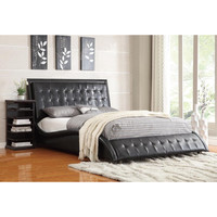 Tully Upholstered Bed by Coaster