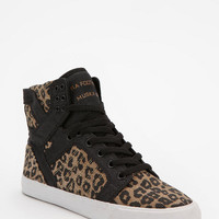 Urban Outfitters - SUPRA Leopard Print SkyTop High-Top Sneaker