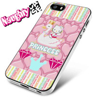 Princess Hello Kitty iPhone 4s iphone 5 iphone 5s iphone 6 case, Samsung s3 samsung s4 samsung s5 note 3 note 4 case, iPod 4 5 Case