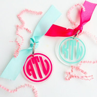 Monogram Key Chain decal sticker key chain monogrammed gift monogram car decal key chain sticker monogram key chain gift monogrammed decal