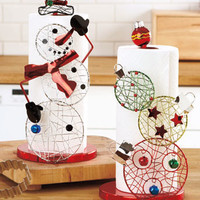 Holiday Paper Towel Holders