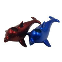 Dolphin Tobacco Stems Smok Metal Pipes Portable Creative Smoking DIY Pipe Herb Tobacco Narguile Weed Smoke Cigarette Holder