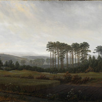 Caspar David Friedrich - The Times Of Day: The Afternoon