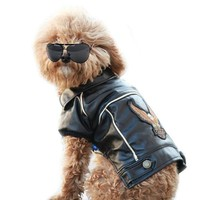 Motorcycle Jacket For Small Dogs