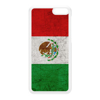 Old Grunge Metal Flag of Mexico - Mexican Flag - Bandera de Mexico White Hard Plastic Case for Amazon Fire Phone by UltraFlags