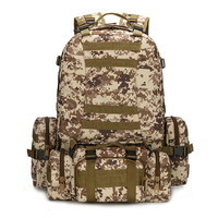 Men Travel Bags Outdoors Backpack Camouflage Camping Set [6632428167]
