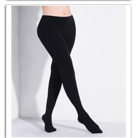 Women 150D Winter Warm Tights Microfiber Thermal Fleece Lined Stockings Pantyhose Women Thick Warm Velvet Pantyhose For Winter