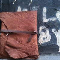 New Ipad leather case in Buffalo leather