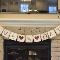 Save the Date Banner, Party Decorations, Photo Props, Engagement Photo Prop