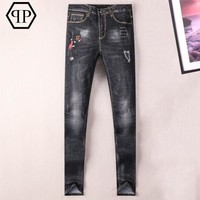 Boys & Men Philipp Plein Fashion Casual Pants Trousers Jeans