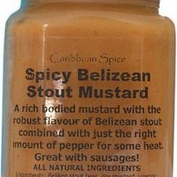 Spicy Belizean Stout Mustard