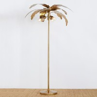 The Emily & Meritt Palm Floor Lamp