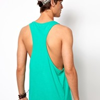 ASOS Vest With Extreme Racer Back at asos.com