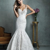 Allure Couture C329 Fit and Flare Wedding Dress