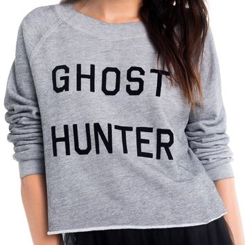 Ghost Hunter Monte Crop Sweatshirt
