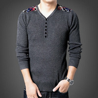 Men Sweaters Sweaters For Men Slim Fit Pullovers Casual Sweaters Men Clothing SM6