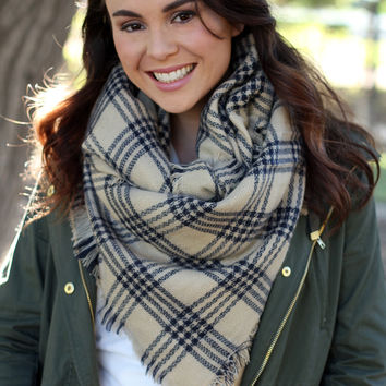 The Real Deal Blanket Scarf