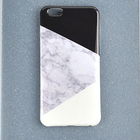 Patchwork Marble iPhone 6 6s Plus Case Cover