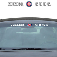 """Chicago Cubs 35""""x4"""" Windshield Decal"""