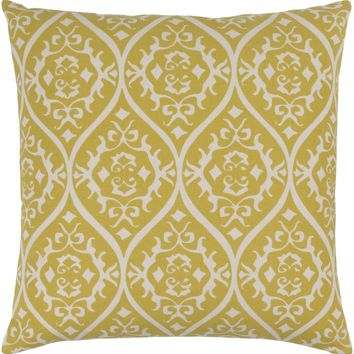 Somerset Throw Pillow Green, Neutral